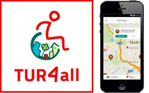 PORTUGAL/SPAIN – TUR4all Accessible Tourism App